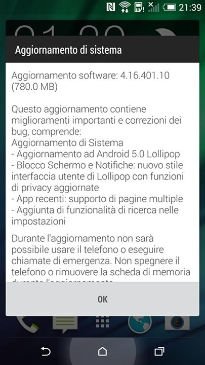 htc-one-m8-aggiornameto-android-lollipop