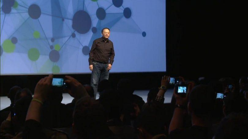 Peter Chou on stage