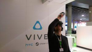 prova HTC Vive