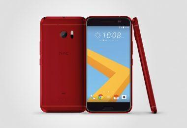HTC 10 Camelia Red
