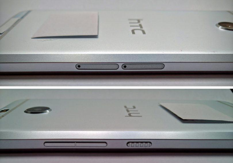 HTC Bolt vista laterale