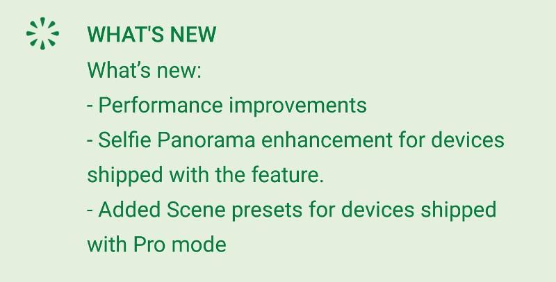 Fotocamera HTC Update